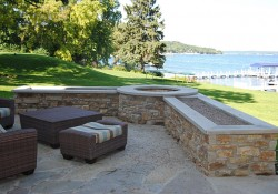 Stone Harbor Weathered Edge firepit