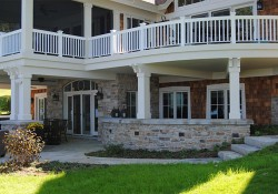 Stone Harbor Weathered Edge patio walls